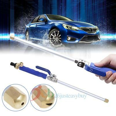 High Pressure Power Washer Gun Jet Spray Nozzle Water Hose Wand Attachment Car