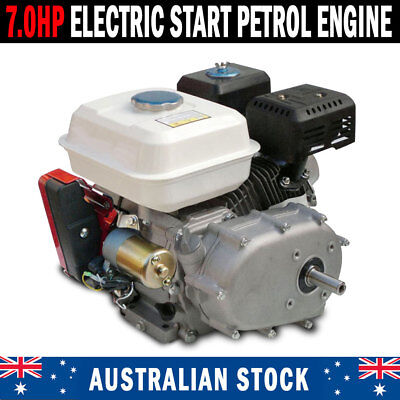 NEW 7.0Hp Stationary Engine Reduction Gearbox Electric Start