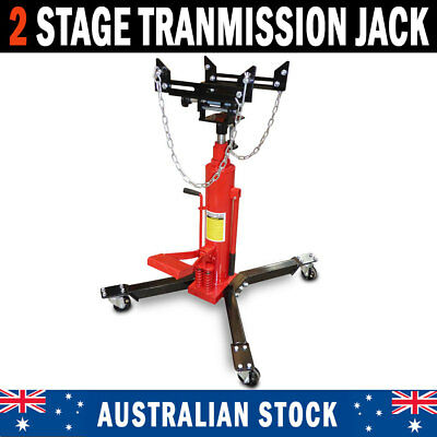 TRANSMISSION JACK STAND 2 Stage Hydraulic High Lift Gearbox Lifter Hoist 0 5