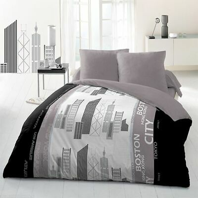 Parure de couette microfibre 220x240 cm World cities
