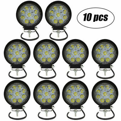 10x 4inch 36W LED Work Lights Pods Cube SPOT Beam Offroad Fog Driving Light 12V