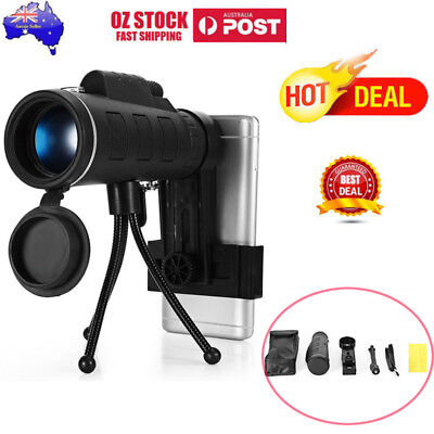 40X60 HAWK EYE V2 SCOPE WITH COMPASS Night Vision Zoom  For Phone Travel Hiking