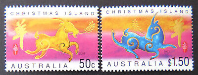 2003 Christmas Island Stamps - Lunar New Year - Year of the Goat - Set of 2 MNH