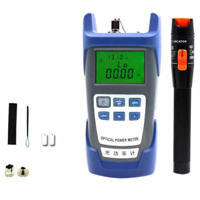 10KM Fiber Optical Power Meter 10mV Visual Fault Locator Fiber Optic Cable