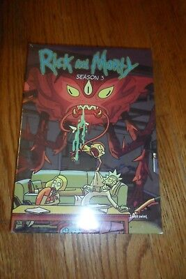 Rick and Morty The Complete Season 3 (DVD, 2017). Free Fast Shipping!!!