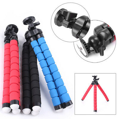 1x 26cm Portable Mini Flexible Tripod Octopus Stand Gorilla Pod For Gopro Camera