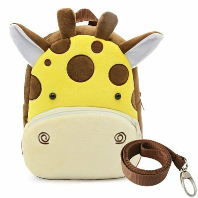 Cartoon Baby Toddler Kids Boy Girl 3D Animal Safety  Bag Backpack with Reins