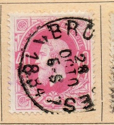 Belgium 1869-81 Early Issue Fine Used 40c. 213906