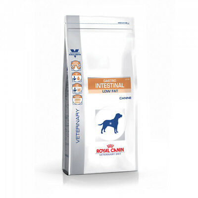 Croquettes Royal Canin Veterinary Diet Gastro Intestinal Low Fat pour chiens Sac