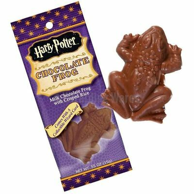 Harry Potter Chocolate Frog with a 3D Lenticular Collector card inside each pack