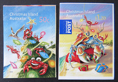 2008 Christmas Island Stamps - Christmas - Set of 2 P&S MNH