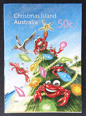 2008 Christmas Island Stamps - Christmas - Single 50c P&S MNH