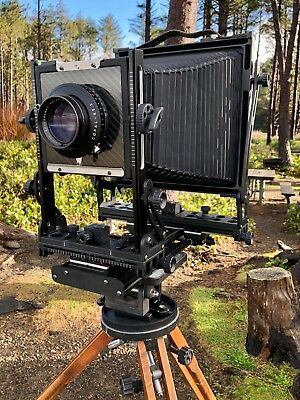 Gibellini 8x10 Carbon Fiber Camera including 4x5 Back and Case - Price Lowered