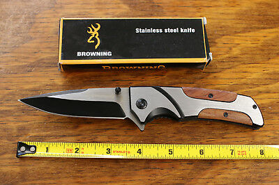 Browning Assisted Opening Pocket Knife Saber F77 FAST SHIPPING
