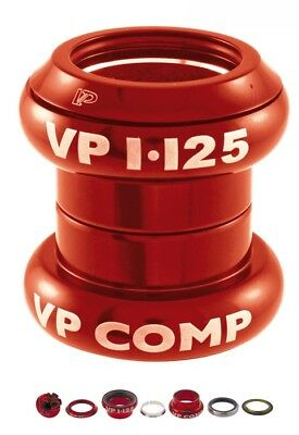 headset a-head set 1 - 1/8 red VPCOMPONENTS bike parts