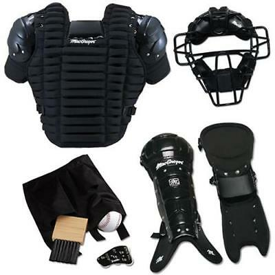 Macgregor Umpire Pack-Includes Mask, Chest Protector, Leg Guard, & Accessories