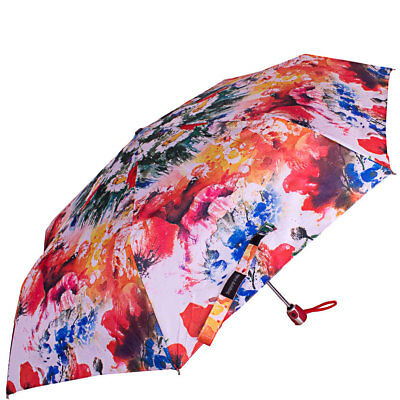 Umbrella for Women HAPPY RAIN 7 Rib Fully-Automatically Rain Wind Resistant New