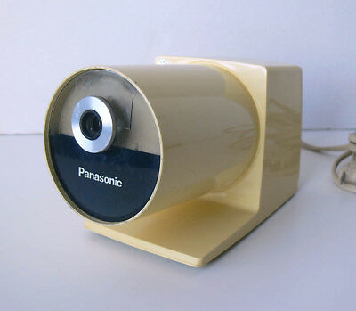 Vtg mid-century MOD Panasonic PANA POINT electric PENCIL SHARPENER model KP-22A