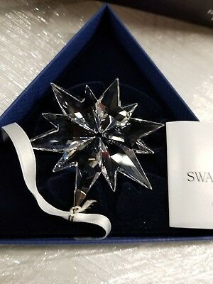 Swarovski Crystal 2017 ANNUAL EDITION LARGE CHRISTMAS ORNAMENT