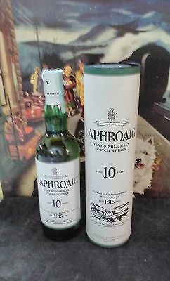 3 bottiglie Islay Single Malt Scotch Whisky LAPHROAIG 10 years old 70cl