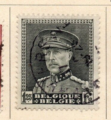 Belgium 1931-32 Early Issue Fine Used 1.25F. 215015