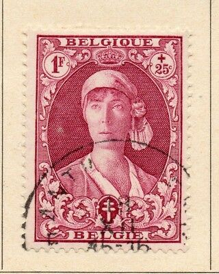 Belgium 1931-32 Early Issue Fine Used 1F. 215028