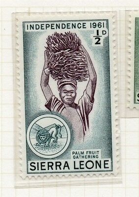 Sierra Leone 1961 Early Issue Fine Mint Hinged 1/2d. 215187