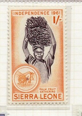 Sierra Leone 1961 Early Issue Fine Mint Hinged 1S. 215194