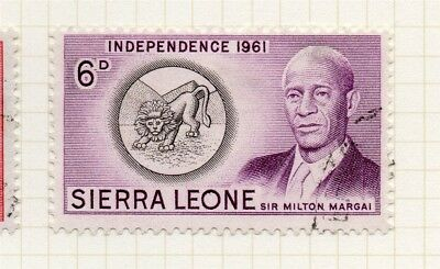 Sierra Leone 1961 Early Issue Fine Used 6d. 215206