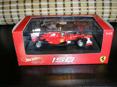 HOT WHEELS FERRARI 150 ITALIA - F1 2009  1:43 F. Massa No 6