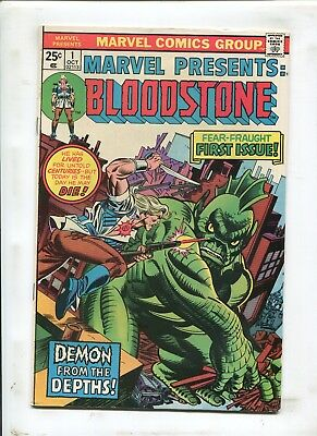 "Marvel Presents: Bloodstone #1 - ""demon From The Depths!"" - (9.0) 1975"