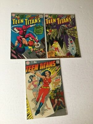 Teen Titans 5 8 23 Very Good Or Better Silver Age