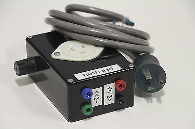 Earth Ground electrical Leakage Tester AAMI ACMV