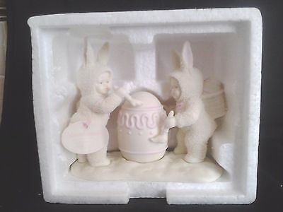 Department 56 Snowbunnies I'll Paint the Top  NWT WITH ORIG. BOX