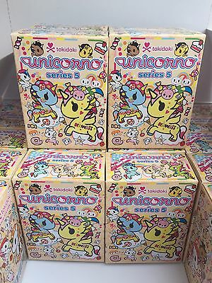 tokidoki unicorno series 5 unicorns single blind box x4