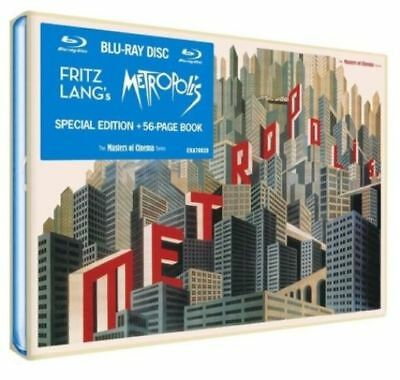 Metropolis Special Edtion + 56 Page Book Masters of Cinema New Blu-ray Region B