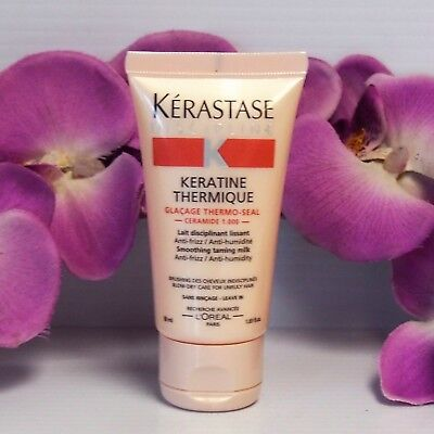 TRAVEL !! KERASTASE DISCIPLINE KERATINE THERMIQUE SMOOTHING TAMING MILK 50ml /1