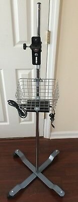 Welch Allyn Vital Signs Monitor Rolling Mobile Stand: Spot LXi 300 42x 45x 53x