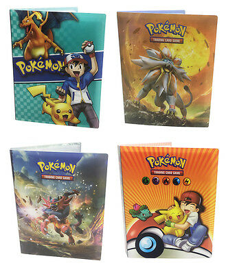 Pokemon Cards Album Book List Card Collectors 240Pcs Capacity Cards Holder Gift
