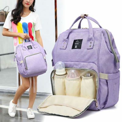 Multifunctional Baby Diaper Backpack Travel Changing Bag Nappy Mummy AU Shipping