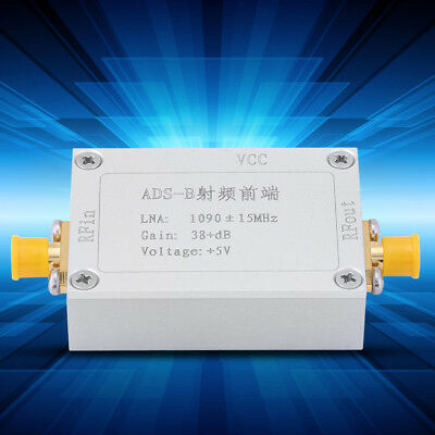 1Pcs ADS-B 1090MHz RF Front-end Radio Frequency Amplifier 38dB Gain LNA DH