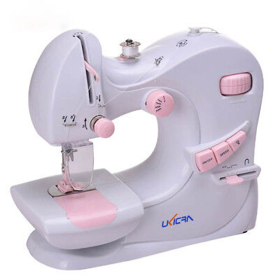 5 Stitches Multifunction Electric Double Stitches Sewing Machine Auto Winding Se