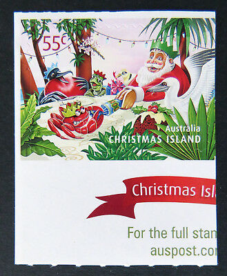 2011 Christmas Island Stamps - Christmas- Single 55c P&S MNH