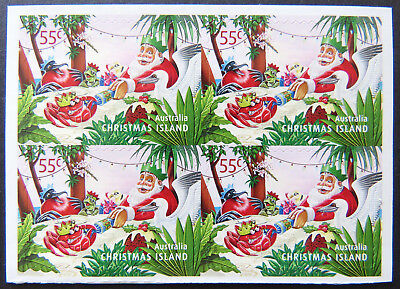 2011 Christmas Island Stamps - Christmas- Block of 4 x 55c P&S MNH