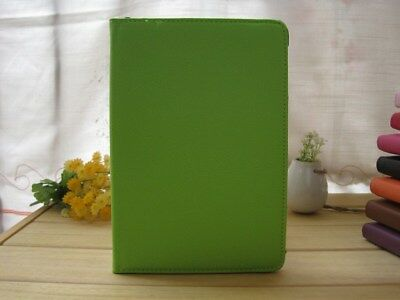 360 Folding Rotating Stand Leather Case Cover For Apple iPad Mini - Green US