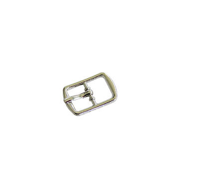 Plain Rectangle  shaped Silver Buckles for 8mm wide straps