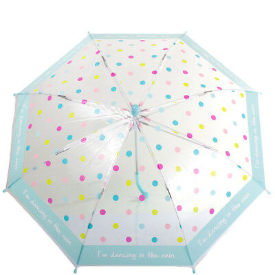Children's Umbrella Cane HAPPY RAIN Lightweight Convenient Protects Against New