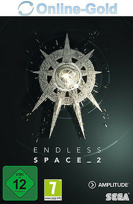 Endless Space 2 - STEAM Download Code - PC Standand Game Key Endless Space II EU