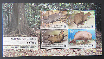 Australian Decimal Stamps: 2011 WWF for Nature: 50 Years Mini Sheet MNH