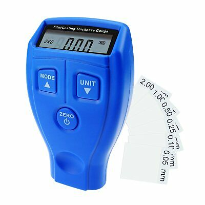 Film Coating Thickness Gauge Meter Car Painting Measurement Inspection Tools